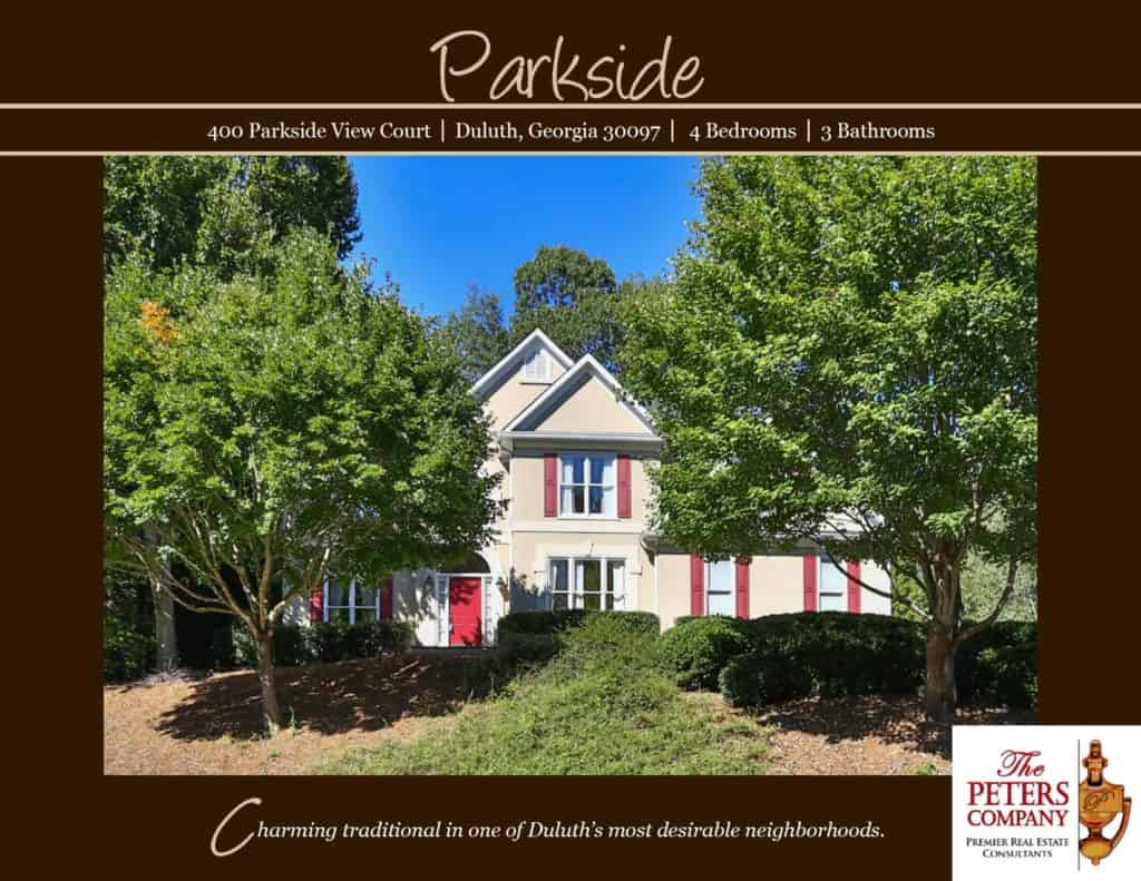 400 Parkside View Court Flyer front