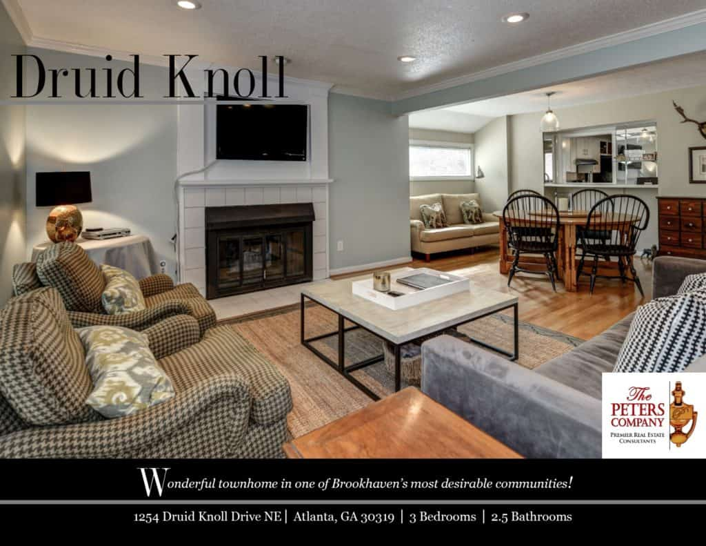 1254 Druid Knoll Drive Flyer front
