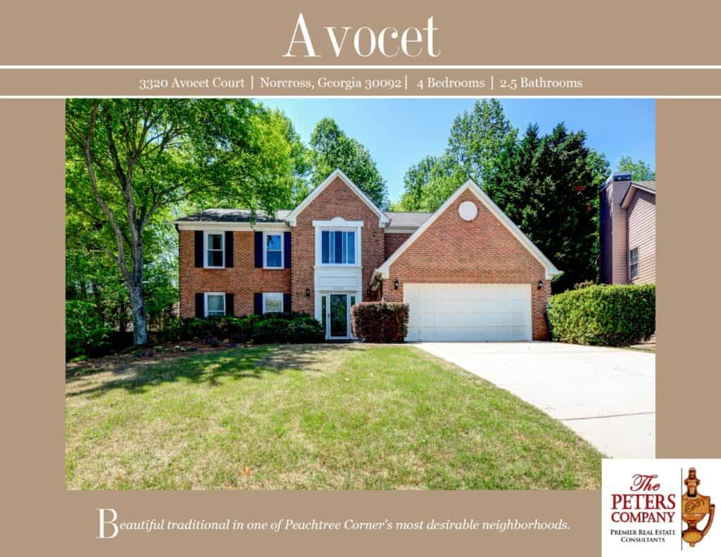 3320 Avocet Court Flyer front