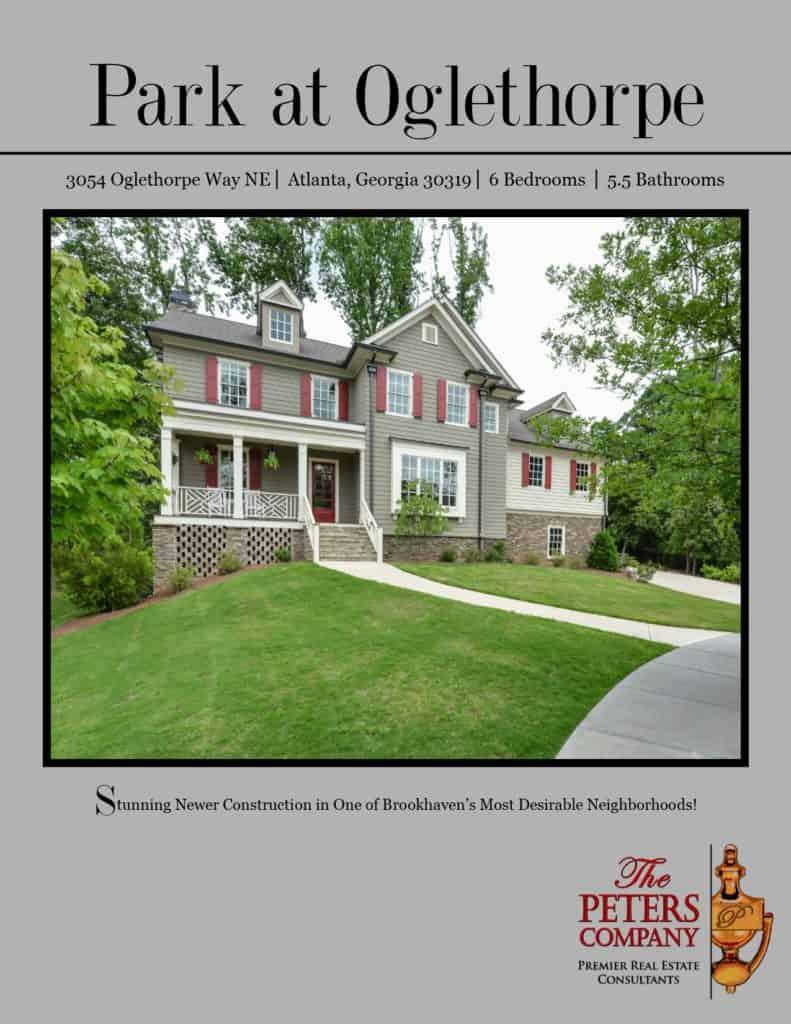 3054 Oglethorpe Way NE Flyer front