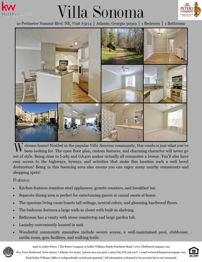 10 Perimeter Summit Blvd#3114 Flyer front