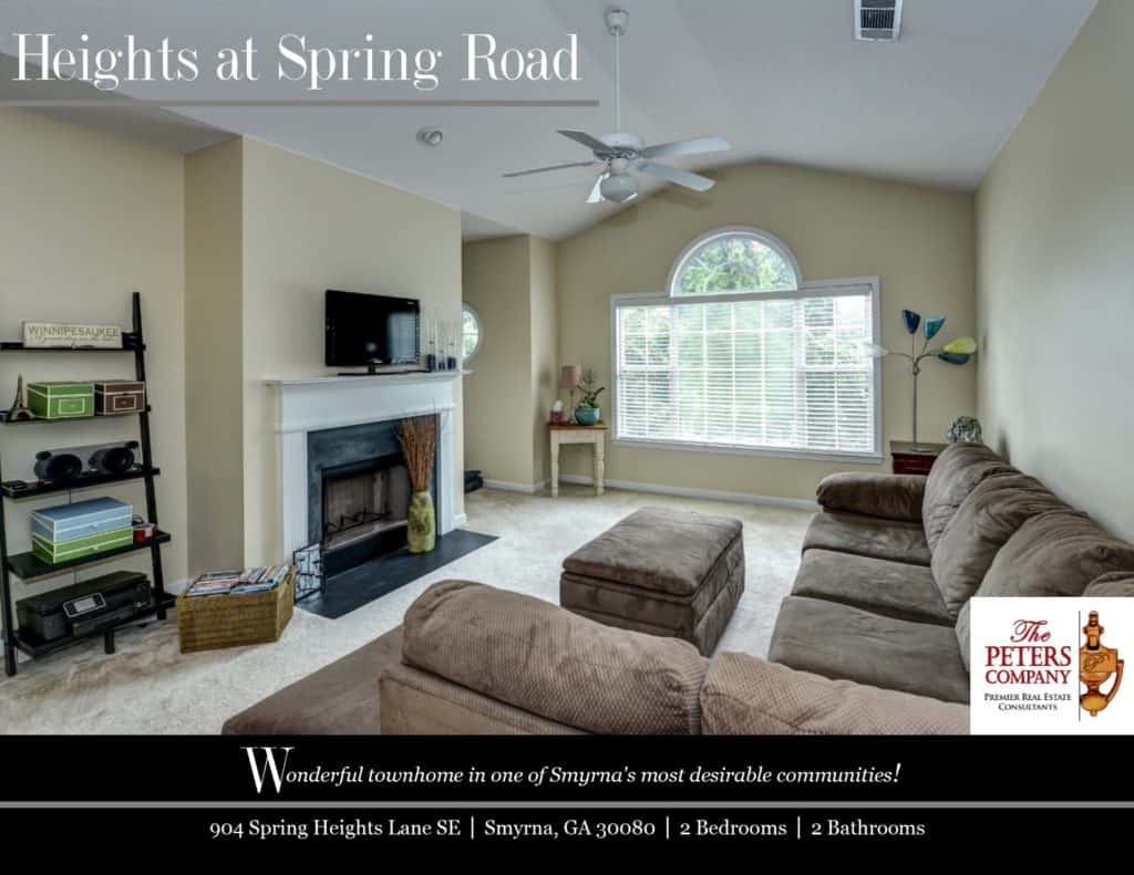 904 Spring Heights Lane SE Flyer front