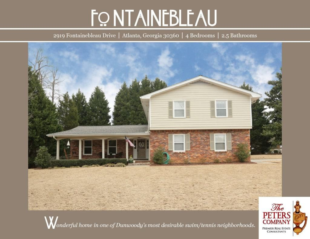 2919 Fontainebleau Drive Flyer front