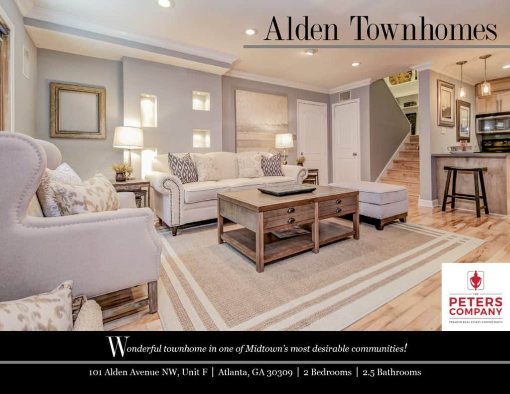 101 Alden Avenue NW Unit F Flyer front